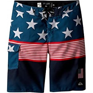 Division Independent Boardshorts (Big Kids) Navy Blazer