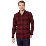 Deschutes River Heavyweight Flannel Red Element Plaid