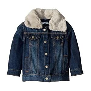 Denim Jacket with Faux Fur Collar (Infant)