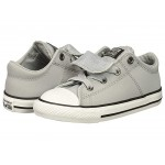 Chuck Taylor All Star Maddie - Ox (Infant/Toddler) Wolf Grey/Black/White