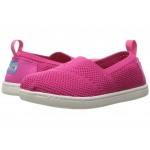 Knit Alpargata Espadrille (Infant/Toddler/Little Kid) Fuchsia Mesh