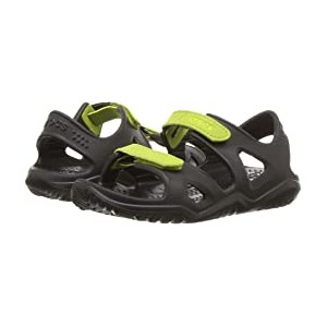 Swiftwater River Sandal (Toddler/Little Kid) Black/Volt Green