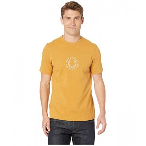 Circular Embroidered T-Shirt