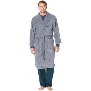 Marled Plush Robe