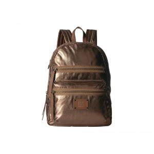 Ivy Nylon Backpack Bronze Metallic