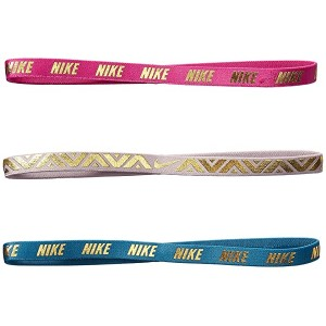 Metallic Hairbands 3-Pack (Big Kids)