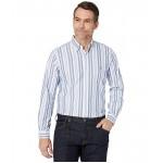 Polo Ralph Lauren Classic Fit Long Sleeve Oxford Shirt Blue/Whtie Multi Stripe