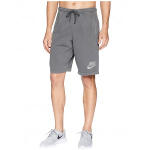 NSW Shorts French Terry Wash HBR Black/Anthracite/White