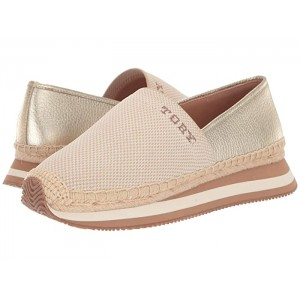 Daisy Logo Slip-On Trainer Natural/Spark Gold