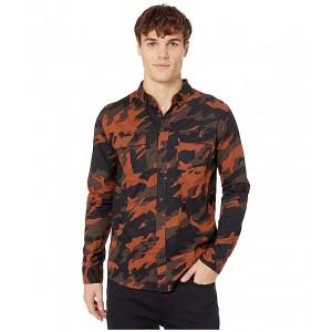 Newski Slub Poplin Shirt Tortoise Shell