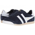 Harrier 50 Suede Navy/White