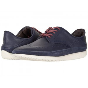 Cali Wing-Toe Derby Navy Leather