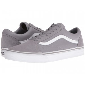 Old Skool (Suede/Canvas) Frost Gray/True White