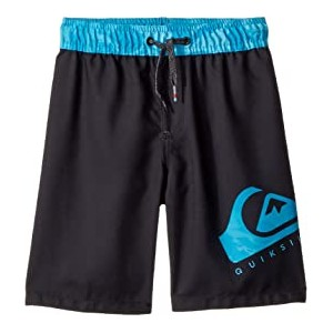 Lava Logo Volley Shorts (Big Kids) Black
