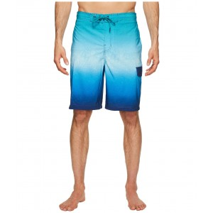 Spray Blend Ombre E-Boardshorts Blue