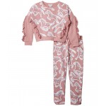 Painted Horses Tracksuit Set (Toddler/Little Kids/Big Kids)