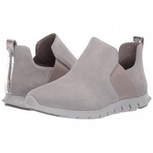 Zerogrand Slip-On Boot Ironstone Suede