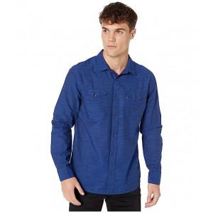 Darrow Slub Poplin Shirt Sodalite Blue