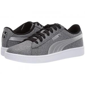Vikky V2 Glitz (Big Kid) Puma Black/Puma Silver/Puma White
