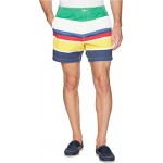 CP-93 Striped Stretch Twill Shorts Marsh Stripe