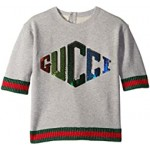 Lurex Trimmed Sequin Sweatshirt (Little Kids/Big Kids)