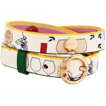 Printed Reversible Double Wrap Bracelet