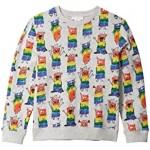 Rainbow Monsters Sweatshirt (Toddler/Little Kids/Big Kids)