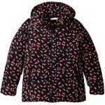 Holly Printed Water Repellant Zip Hooded Jacket (Little Kids/Big Kids)