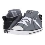 Converse Kids Chuck Taylor All Star Axel - Mid (Infantu002FToddler) Limestone Grey/Black/White