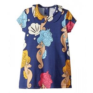 Seahorse Collar Short Sleeve Dress (Infant/Toddler/Little Kids/Big Kids)