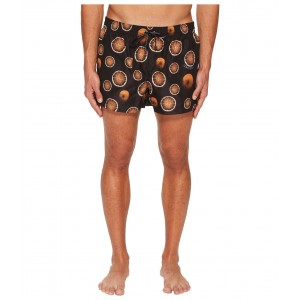 Oranges Short Boxer Swimsuit w/ Bag Black