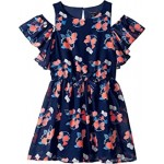 Floral Chiffon Dress (Big Kids)