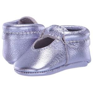 Lilac Metallic Ballet Flat (Infant/Toddler) Purple