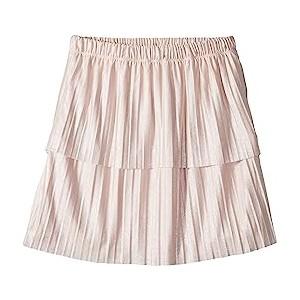 Pleated Skirt (Big Kids) Crystal Rose