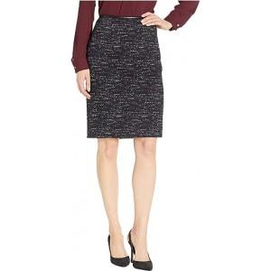 Ponte Printed Skirt Black/Cream
