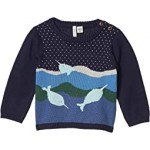 Narwhal Intarsia Sweater (Infant)