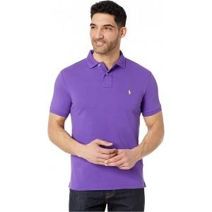 Polo Ralph Lauren Custom Slim Fit Mesh Polo Cabana Purple