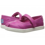 Mary Jane Flat (Infant/Toddler/Little Kid) Fuchsia Iridescent