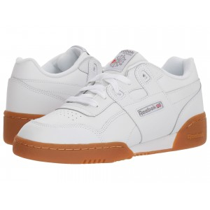 Workout Plus (Big Kid) White/Gum