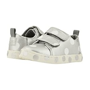 Lenny (Infant/Toddler/Little Kid) Silver Pearlized Synthetic Leather Dots
