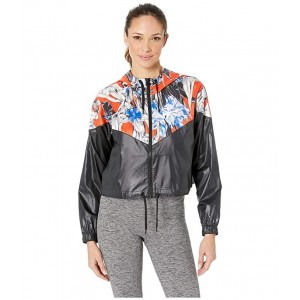 Hyper Femme Jacket Crop Windrunner Black/White