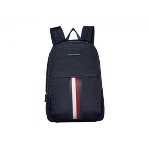 Jonathan Nylon Square Backpack Tommy Navy