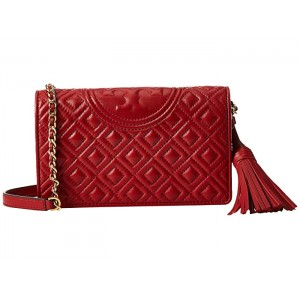 Fleming Wallet Crossbody Red Apple