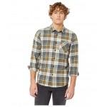 Caden Plaid Long Sleeve Flannel Vineyard Green