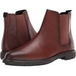 Burnished Leather Chelsea Boot