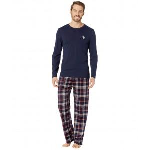Long Sleeve Tee & Luxe Fleece Pants Gift Set Assorted P3