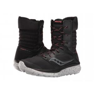 Kineta Boot Black/Coral