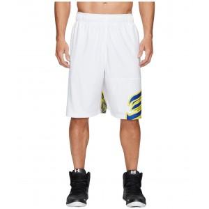 UA SC30 Core 11 Shorts White/Royal/Royal
