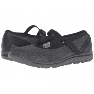 TravelActiv Mary Jane Black/Grey Heather
