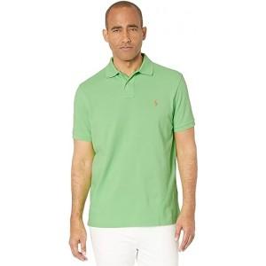 Custom Slim Fit Mesh Polo New Lime